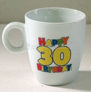 Tasse Happy Birthday 30. Geburtstag